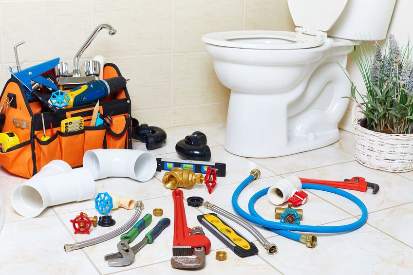 outils plombier wc
