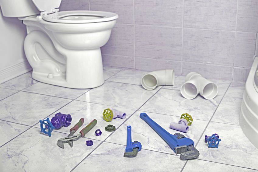 wc outils plombier